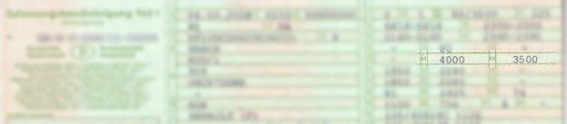Erkennbar ist das zGG auf der Zulassungsbescheinigung Teil 1 - dem früheren Fahrzeugschein - unter F2.